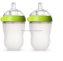 2016 best selling BPA free food grade 8 ounce comotomo baby bottle