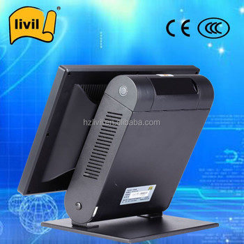 Best Sales Touch Screen POS Monitor with Store / Restaurant POS Terminal