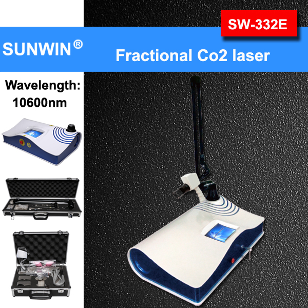 high quality potable fractional co2 laser equipment for acne treatment (SW-332E)
