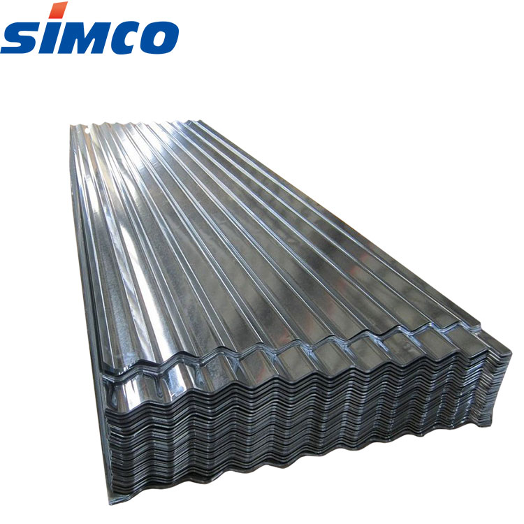 Long span corrugated galvanized steel roofing sheet for company