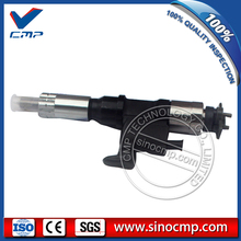 AT high quality 4HK1 6HK1 excavator common rail injector 8-97609788-6 8976097886