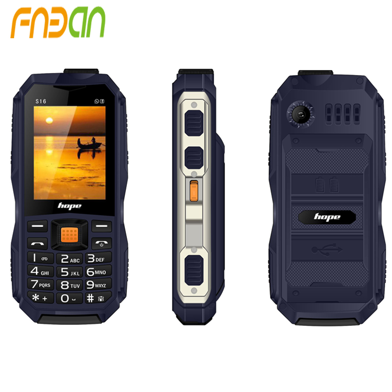 2017 Original Professional Rugged Military Mobile Phone Waterproof and Dustproof Hope G908-S16