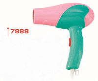 Colorful new design hair dryer, unfolded hair dryer1000W