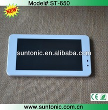 6.5 inch tablet pc dual core mtk 6572 with dual sim card slot