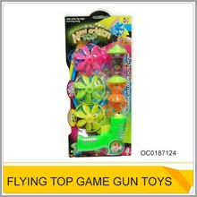 Plastic flying saucer & spinning top toy for sale OC0187124