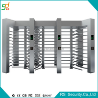 Dual Access Full Height Turnstile OED RFID Barrier
