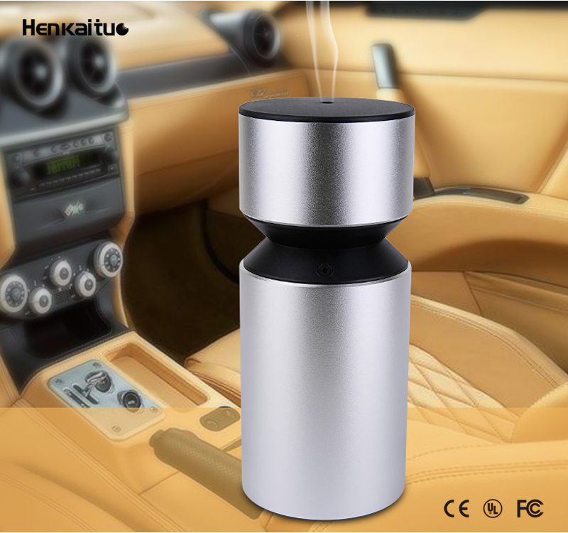 Battery Operated USB Fragrance Perfume Humidifier Hanging Aromatherapy Scent Air Freshner Aroma Car Essential Oil Diffuser