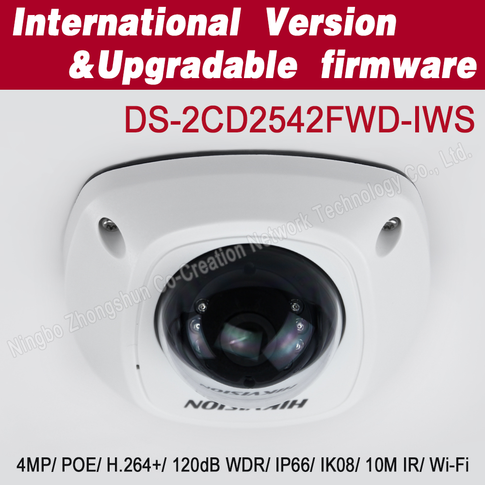 DS-2CD2542FWD-IWS 4MP WDR ip Dome Network <strong>Camera</strong> with POE,wifi mini <strong>camera</strong>