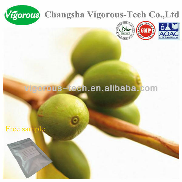 Best price green coffe bean extract/green coffee bean chlorogenic acid