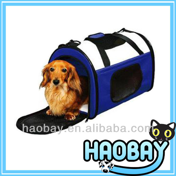 Classical Dark Blue Pet Tote Pet Cage