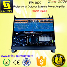 FP14000 7000W Professional Outdoor Extreme Power Amplifier