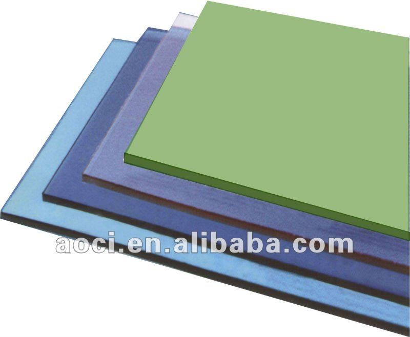 polycarbonate awning material compact polycarbonate solid sheet