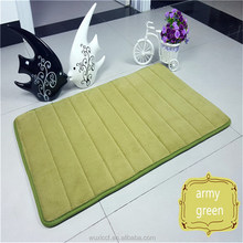 Competitive price new design branded microfiber kitchen mat