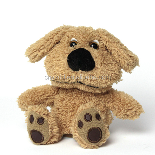 Plush Toy Dog/battery operated plush dog