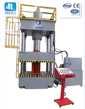 ceiling tile hydraulic press machine 1000 ton four column machine