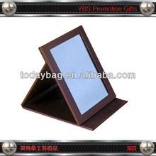 Wholesale leather Pocket Mirror with square shape
