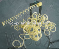 good quality best price spiral potato chip maker with CE certificate for sale