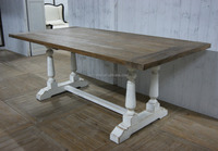 Factory Direct Old style Top Quality Reclaimed Oak Wood Console Table