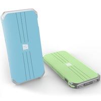 Best Selling Popular and Portable Dual USB Output 5V 2A 5000mAh AAAA+ Mobile Power Bank for Christmas Gift