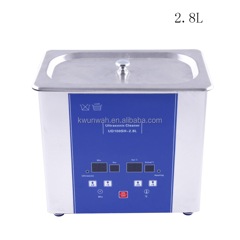 industrial eumax Ultrasonic jewelry Cleaner UD100SH-3L ultrasound cleaning machine with heating