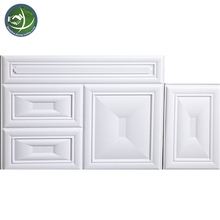 Heat Insulation 3D PVC Wall Panel Embossed Wall Board
