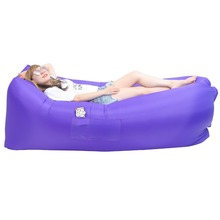 2017 Camping Outdoor Inflatable Air Sofa cheap inflatable sofa