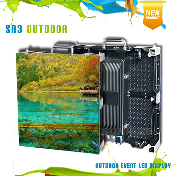LED video screen P3.91 outdoor led display/screen smd1921 rgb modular aluminum cabinet