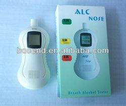Handheld breath alcohol tester/alcostop/alcohol analyzer/breathalyzer BCD-107