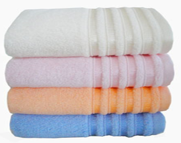 Factory price bamboo cotton bath towel, antiallergic and antistatic bath towel