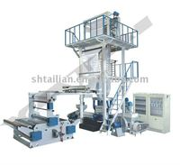 HD/LDPE high speed film blowing machine(double income)