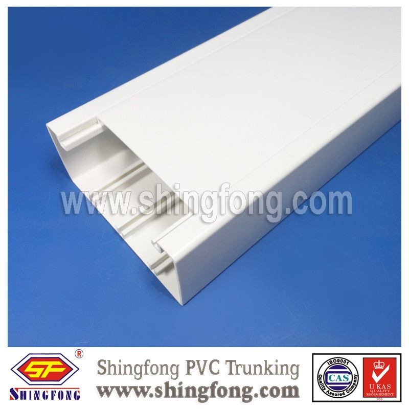 Wall/Underground Using PVC Compartment Trunking for Cable Management Factory Direct Supply 1-4 Available