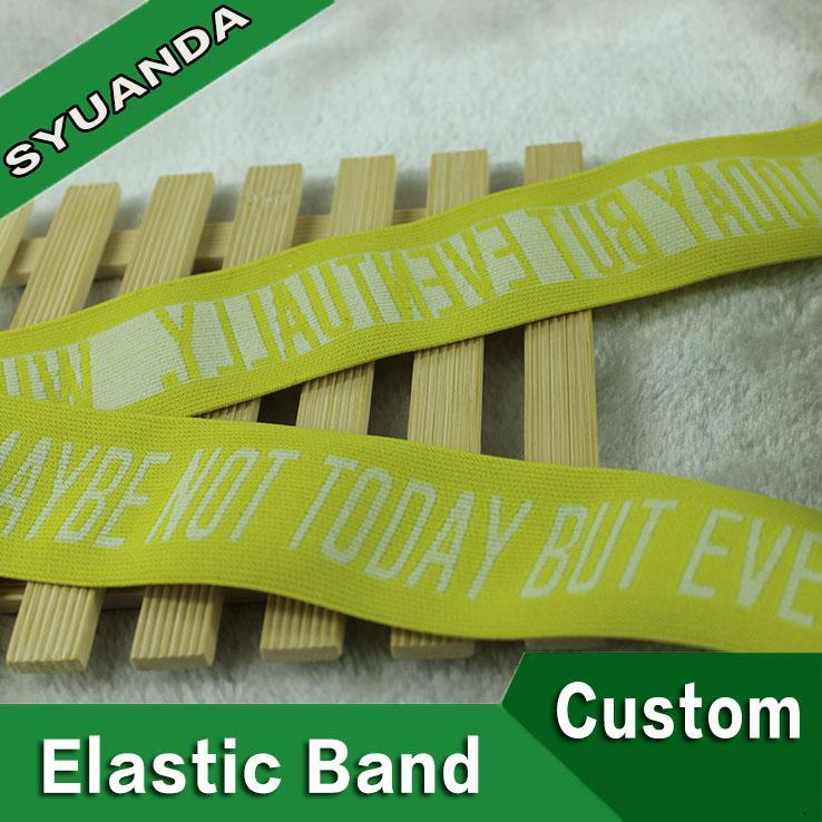 2015 hot sell woven waistband elastic tape