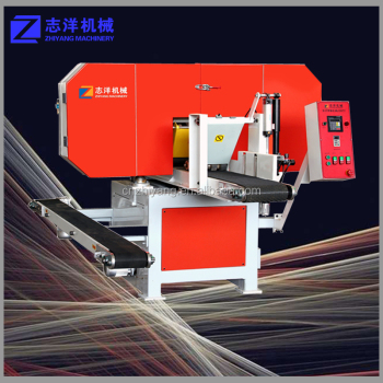 Horizontal wood band saw machine