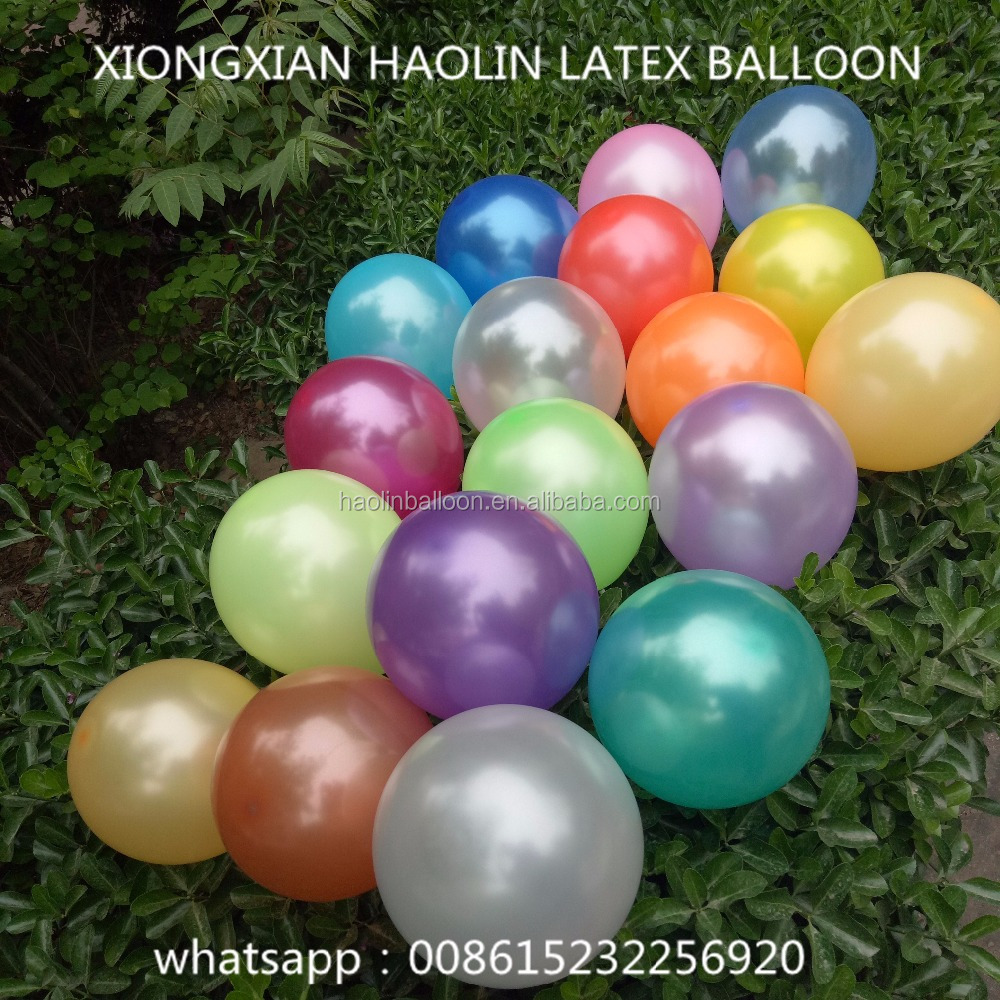 party decoration use latex pearl balloons