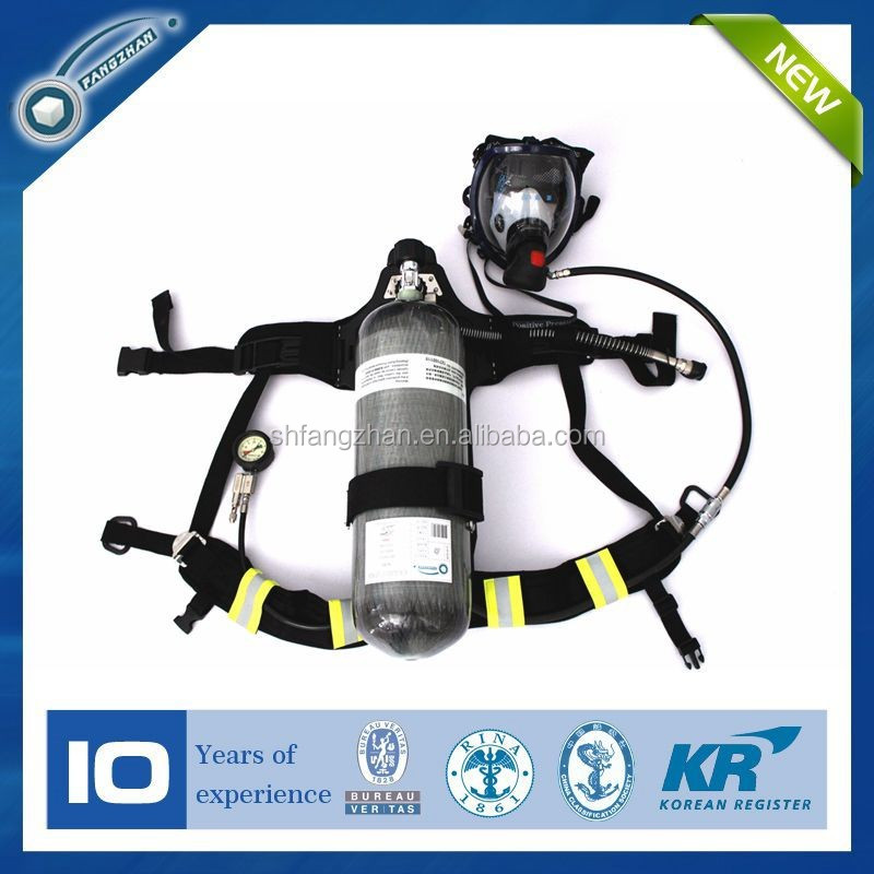 Personal protective 6.8L Breathing apparatus with EC certificate