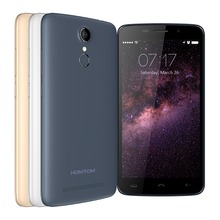 5.5inch Android 6.0 MT6737 Quad core HOMTOM HT17 mobile phone with fingerprint