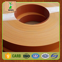 High quality new pvc plastic wood grain edge strips