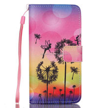 Wallet Leather Flip case for Samsung galaxy grand prime G530, Eyes design case for Samsung G530