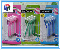 Hot sale new design L type interdental brush