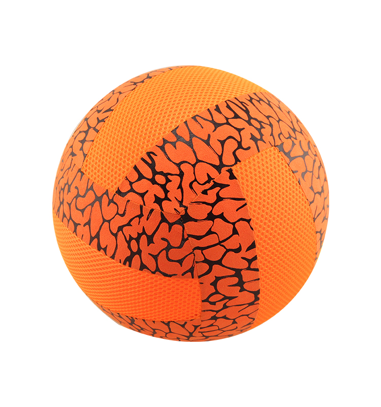 Low price Polyester and Fabric covered inflatable child toy volleyball