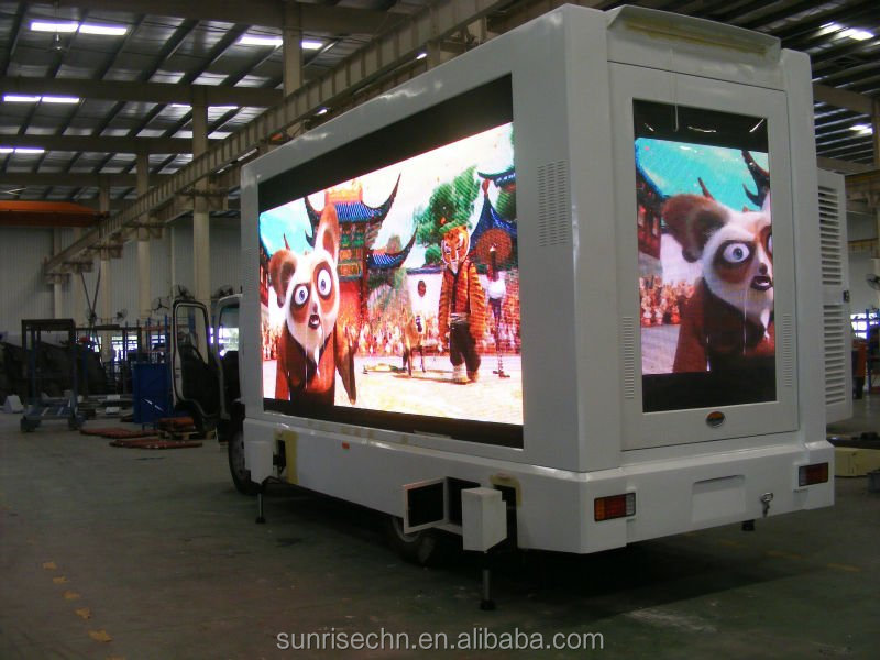 JAC 4X2 LED Truck AND MOBILE LED TRUCK , truck mobile advertising led display