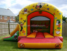 hot sale disny inflatable Looney Tunes Bounce and Slide