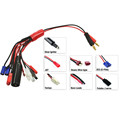 Tarantula 7-in-1 Charging Adapter multi charging cable wire harness 14awg silicone wire 20cm