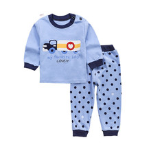 Wholesale cute boys kids cartoon pajamas for kids available custom design