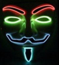 2016 The newest LED halloween mask