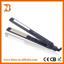 Fashion 2 in 1 ceramic or aluminum plates hair straighteners