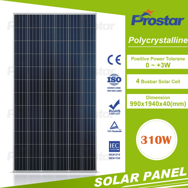 Prostar finished custom clearance Europe stock cheap DDP solar pv panels price