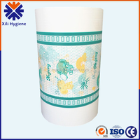 PE cast film,raw material PE film for baby diaper backsheet hygiene products