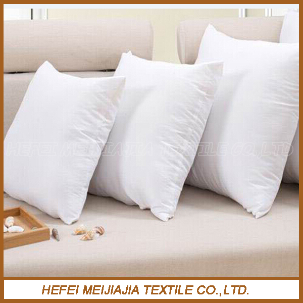Wholesale feather down fill pillow cushion inserts for home,hotel,sofa,bed,chair,seat