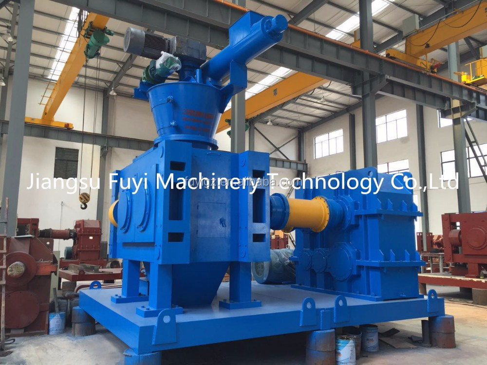Metal powder briquetting machine/extruder